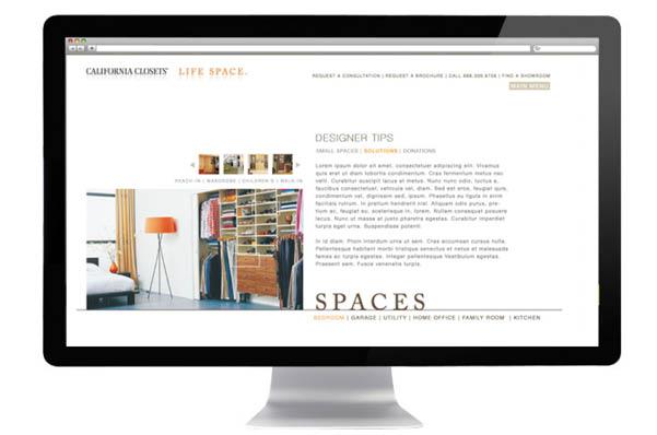 Website. GLG For California Closets